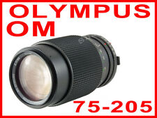 Vivitar 37* Tokina 75-205mm f 3.5-4.5 MC Zoom Lens Olympus OM camera 10 1 n 2 4