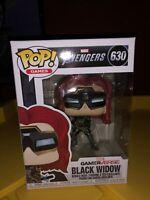 Funko POP! Games Marvel GamerVerse Avengers Black Widow #630 In Hand