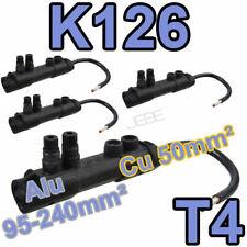 MICHAUD K126 T4 lot de 4 embouts réducteur de section 95-240 vers 50mm²