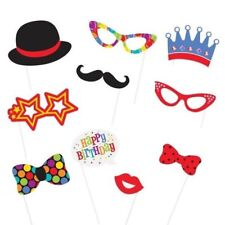 Photo Booth Party Probs Accessories Boys Girls Adults Birthday Celebration