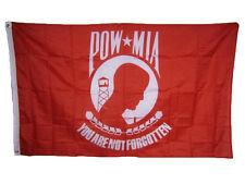 "Wholesale Lot of 6 POW MIA POWMIA Prisoner of War Missing 4/""x6/"" Desk Flag"
