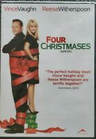 Four Christmases/Quatre Noel (DVD, 2009, English/French) Brand New Sealed