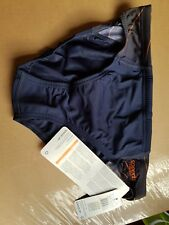 "NEW Speedo Boys Blue and Orange Swimming Trunks Briefs 30"""