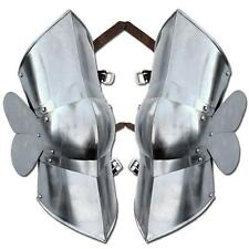 Crusader Authentic Battle Ready Greaves Knights Leg Armor Large