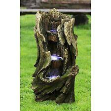 DW1022 - Cascading Creek Garden Fountain w/Pump & LED Light Kit!