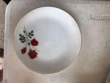 Kronester Bavaria RED ROSES set of 5 salad plates