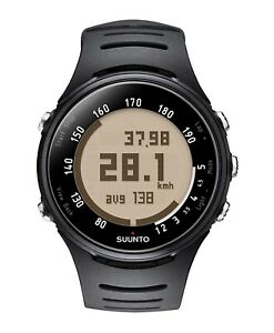 SUUNTO T3c Mens/Ladies HEART RATE MONITOR & WATCH with Chest Strap (black) NEW
