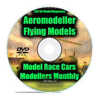 RC Model Airplane Magazines, Aeromodeller, Modellers Monthly, 299 Issues DVD I12