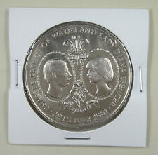 New listing Tristan Da Cunha 25 Pence 1981 Unc, Wedding of Prince Charles and Lady Diana