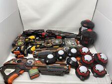 Lot Of 8 Light Strike Lazer tag guns, 2 Targeting System, WowWee TESTED