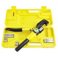 4-70mm 8T Hydraulic Tube Terminals Crimper Crimping Cable Lugs Battery Wire Tool