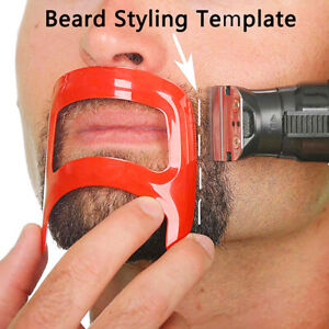 Mustache Beard Salon Styling Tools For Men Fashion Shave Shaping Template Be^lk