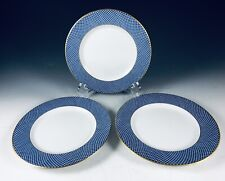 1980 Block Spal Portugal BLUE SKIES 3- Bread & Butter Plates EXC (2 sets avail)