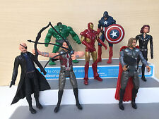 The Avengers 7Pc Lot Marvel Legend Action Figures with LED Light + Free Shipping