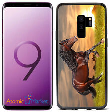Sunset Running Horse For Samsung Galaxy S9 2018 Case Cover