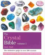 New The Crystal Bible Volume 1 By Judy Hall