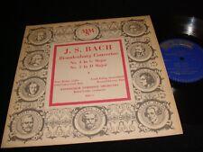 "BACH°BRANDENBURG CONCERTO<>PETER RYBAR<>(10"")33 Rpm Vinyl~USA Pressing<>MMS-13"