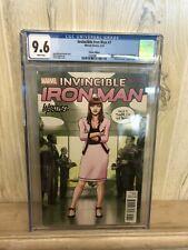 Invincible Iron Man #7 CGC 9.6 1st App of Riri Williams Women of Power Variant