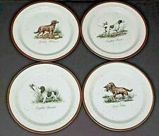 Vintage Sporting Dog Plates Golden Retriever English Spaniel Irish Setter +
