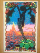 Desert Blossom  Black Light poster 1970's