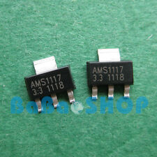 20pcs AMS1117-3.3 LM1117-3.3 LM1117 AMS1117 3.3V 1A Voltage Regulator SOT-223