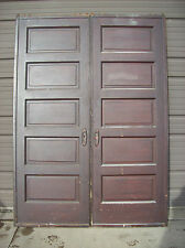 2 available matching sets Pine Pocket doors w/ hardware (D 21)