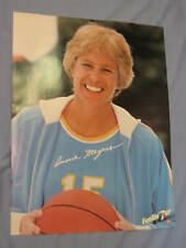 """Orig 1980 Indiana Pacers' Ann """"Annie"""" Meyers 19x25in. Basketball 7Up Poster MINT"""