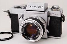 【MINT】 Tokyo Kogaku Topcon RE Super SLR Film Camera w/ 58mm Lens from japan #296