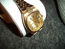 Omega reloj Seamaster 7960812 quartz reloj vintage NOS mujer calibre 1360