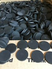 """Rubber Discs Texture Both Sides Non Slip  1/8""""thick."""