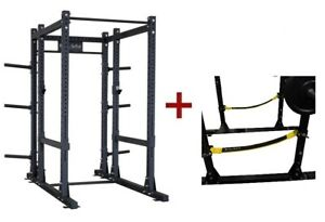 Body-Solid SPR1000SSBack Extended Power Rack w/Power Rack Strap Safeties (New)