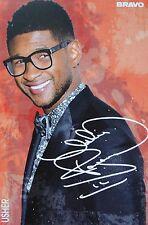 USHER - Autogrammkarte - Signed Autograph Autogramm Fan Sammlung Clippings