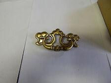 Antique Brass Cabinet Door Pull Handles, Quantity of 50, New w/screws
