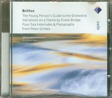 Benjamin Britten - The Young Person'S Guide To The Orchestra Cd Perfetto