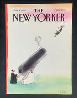 COVER ONLY ~ The New Yorker Magazine, June 4, 1990 ~ Arnie Levin