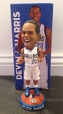 Devin Harris Dallas Mavericks SGA NIB Bobblehead, Nets, Wisconsin, Hawks, Jazz