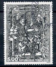 STAMP / TIMBRE FRANCE OBLITERE N° 2730 TABLEAU ART /  OEUVRE DE FRANCOIS ROUAN