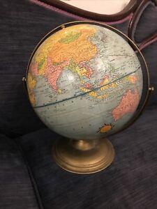 Vintage Scholastic Globe