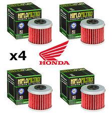 Honda x4 Pack HiFlo Oil Filters HF116 CRF450R CRF 450 R CRF450 2005 2006 2007