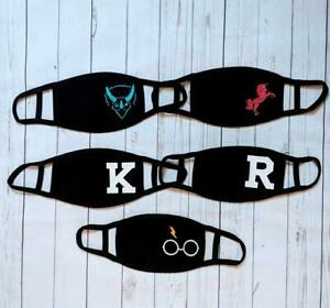 Personalised Kids and Adults Face Masks (Custom, gift, boy, girls, unique, kid)