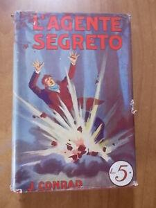 ROMANTICA MONDIALE SONZOGNO n. 8 Joseph Conrad L'AGENTE SEGRETO 1° ed. 1928
