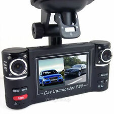 "2.7"" HD 1080P Dual lens Car DVR Day Night Vision Rear Camera Recorder Dash Cam"