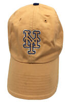 NY New York Yankees Women's Peach Blue Twins Brand Strapback Hat Cap Rhinestones