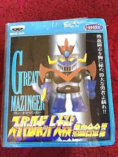 Chogokin Great Mazinger BPZ 04 SD Figure Banpresto 1998 Super Robot Wars NEW MIB