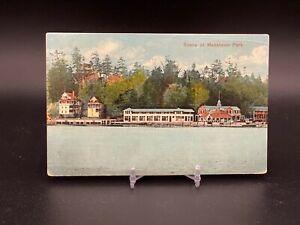 Scene at Macatawa Park - Postmarked 1910