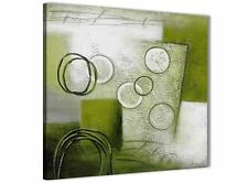 Lime Green Painting Abstract Bedroom Canvas Wall Art Accessories 1s434l - 79cm