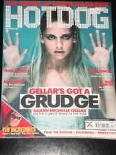 HOTDOG magazine 2004, Sarah Michelle Gellar, The Incredibles, Videodrome, RARE