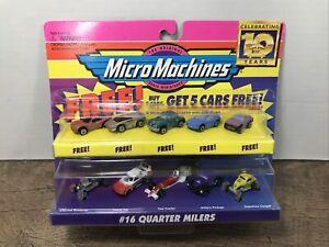 Galoob Micro Machines #16 Quarter Milers 1996 10th Anniversary Gasser Funny Car