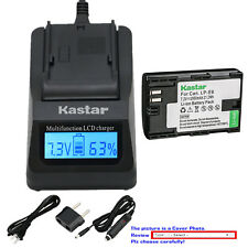 Kastar Battery LCD Fast Charger for Canon LP-E6 LCE6 Canon EOS 7D SV Canon Grip