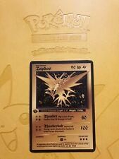 Pokemon Base 1st Zapdos Gold LUXURY CARD custom card Christmas gift